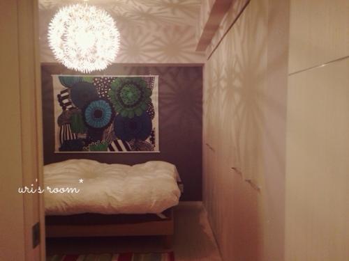 マリメッコのタペストリーを寝室に飾りました!_a0341288_17265548.jpg