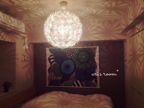 マリメッコのタペストリーを寝室に飾りました!_a0341288_17265653.jpg