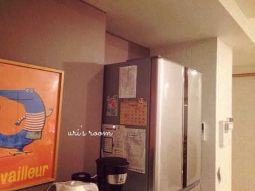 冷蔵庫に今年のカレンダー(100均)を貼りました!_a0341288_17270830.jpg