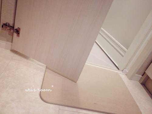 洗面所。soilバスマットの実力と、失敗しちゃったコレ…_a0341288_17271146.jpg