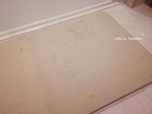 洗面所。soilバスマットの実力と、失敗しちゃったコレ…_a0341288_17271162.jpg