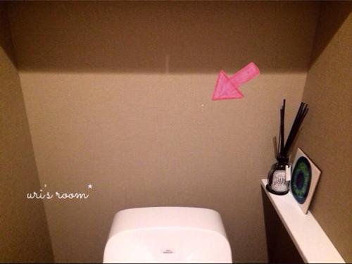 入居2ヶ月足らずで壁紙が傷ついた件(´Д⊂グスン_a0341288_17271500.jpg