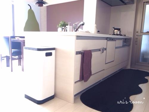 洗濯機のお掃除と、わが家のキッチンマット。_a0341288_17271751.jpg