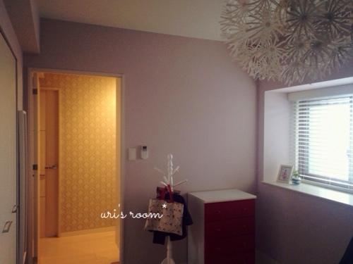 洋室に、IKEAの壁掛け時計を掛けてみました!_a0341288_17272744.jpg
