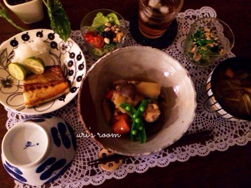 さらば面倒な魚焼きグリル!グリルパンを使って…昨日の晩ごはんは鯖の塩焼き!_a0341288_17273829.jpg