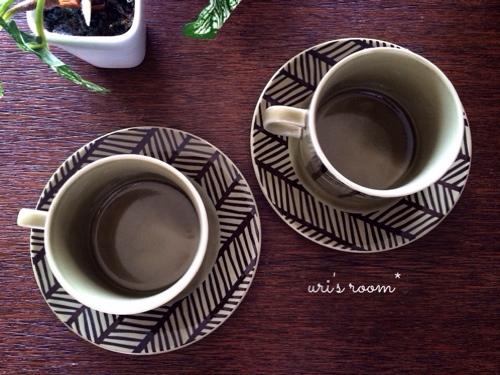 素敵なコーヒーカップ&ソーサーと出会いましたヽ(´▽`)/_a0341288_17274346.jpg