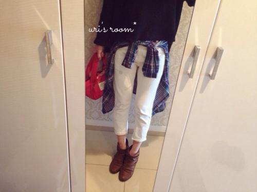 わが家のゴミ箱紹介(´∀`)と、こないだ買ったプチプラシャツが使える!_a0341288_17274462.jpg