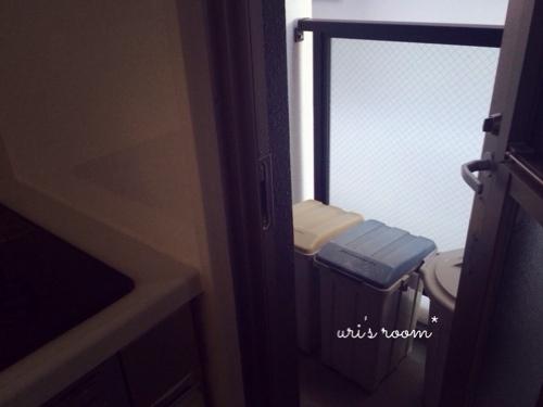 わが家のゴミ箱紹介(´∀`)と、こないだ買ったプチプラシャツが使える!_a0341288_17274495.jpg