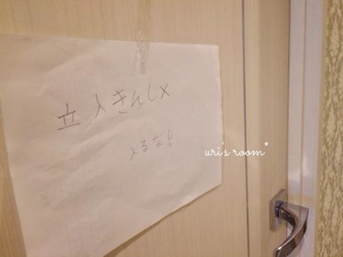 息子の部屋にミラーを設置。小学生男子も身だしなみが大切(´∀`)_a0341288_17275820.jpg