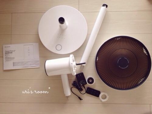 あの!憧れの扇風機、バルミューダのグリーンファンを買いました!_a0341288_17281124.jpg
