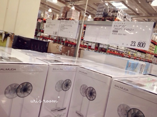 あの!憧れの扇風機、バルミューダのグリーンファンを買いました!_a0341288_17281126.jpg