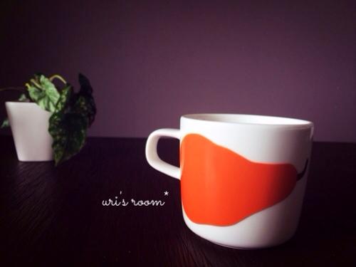 大好きな無印スイーツと、マリメッコのコーヒーカップ。_a0341288_17281442.jpg