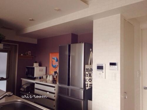 キッチンのデッドスペース。マリメッコをチラリと(´∀`) そしてケーラーオマジオがやっぱり可愛い(´∀`)_a0341288_17281865.jpg