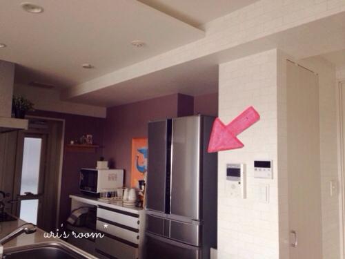 キッチンのデッドスペース。マリメッコをチラリと(´∀`) そしてケーラーオマジオがやっぱり可愛い(´∀`)_a0341288_17281868.jpg