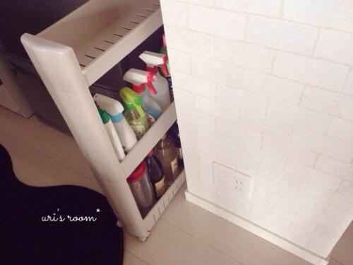 キッチンのデッドスペース。マリメッコをチラリと(´∀`) そしてケーラーオマジオがやっぱり可愛い(´∀`)_a0341288_17281892.jpg