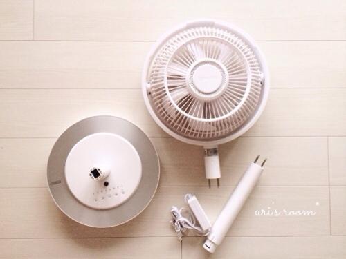 インテリアに溶け込む素敵な扇風機!グリーンファンとカモメファン(´∀`)_a0341288_17282290.jpg
