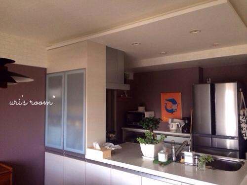 初めてのウォールステッカーでキッチンの雰囲気チェンジ!~前編_a0341288_17283460.jpg