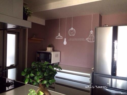 初めてのウォールステッカーでキッチンの雰囲気チェンジ!~後編_a0341288_17283672.jpg