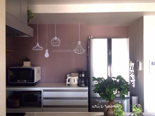 初めてのウォールステッカーでキッチンの雰囲気チェンジ!~後編_a0341288_17283743.jpg
