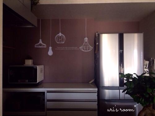 初めてのウォールステッカーでキッチンの雰囲気チェンジ!~後編_a0341288_17283762.jpg