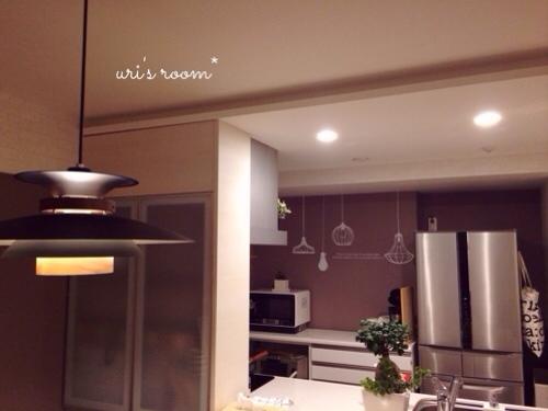 初めてのウォールステッカーでキッチンの雰囲気チェンジ!~後編_a0341288_17283763.jpg
