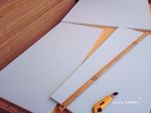 マリメッコのBOTTNA(ボットナ)でファブリックパネル作りました!それから今年も夏休みの宿題が…。_a0341288_17284040.jpg