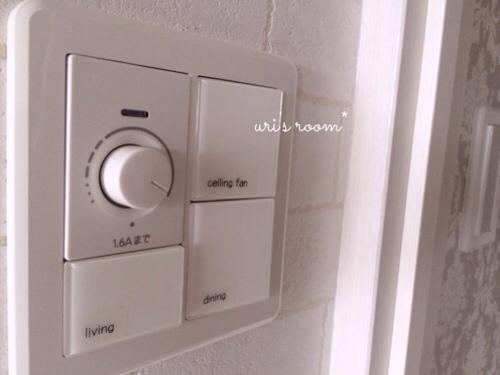 リビングの照明スイッチをもっと分かりやすく使いやすく!そしてベランダに大嫌いなアイツが…(´Д⊂グスン_a0341288_17284444.jpg