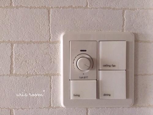 リビングの照明スイッチをもっと分かりやすく使いやすく!そしてベランダに大嫌いなアイツが…(´Д⊂グスン_a0341288_17284484.jpg
