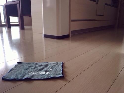 ポチレポ!張り切って参加してまーすヽ(´▽`)/それからフローリングの拭き掃除について。_a0341288_17284702.jpg