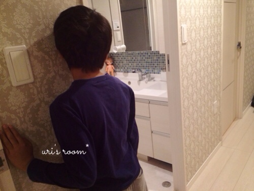 IKEAで買ったモノ続き!そして息子がひとりで洗面所に行けないそのワケ…_a0341288_17285756.jpg