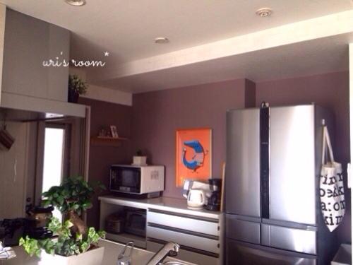 キッチンの壁をumbraウォールデコで大胆にイメチェンヽ(´▽`)/_a0341288_17290628.jpg