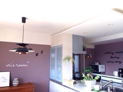 キッチンの壁をumbraウォールデコで大胆にイメチェンヽ(´▽`)/_a0341288_17290630.jpg
