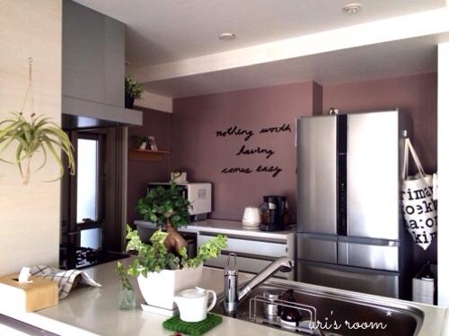 キッチンの壁をumbraウォールデコで大胆にイメチェンヽ(´▽`)/_a0341288_17290653.jpg