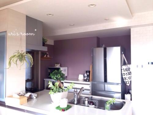 キッチンの壁をumbraウォールデコで大胆にイメチェンヽ(´▽`)/_a0341288_17290697.jpg