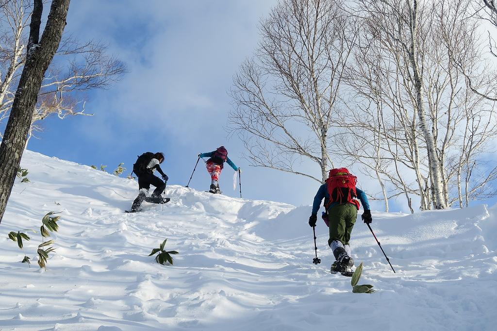 紋別岳から748mピーク、1月27日-速報版-_f0138096_22262592.jpg