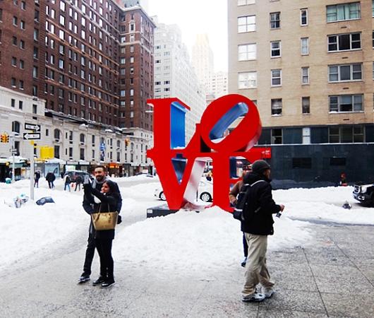 大雪翌日のニューヨーク、ミッドタウンの様子_b0007805_23574848.jpg