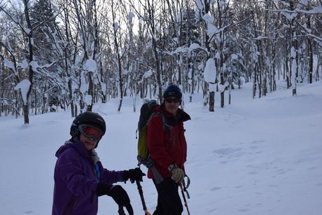2016年1月23日札幌国際スキー場に近い白井岳支尾根の山を滑る_c0242406_160564.jpg