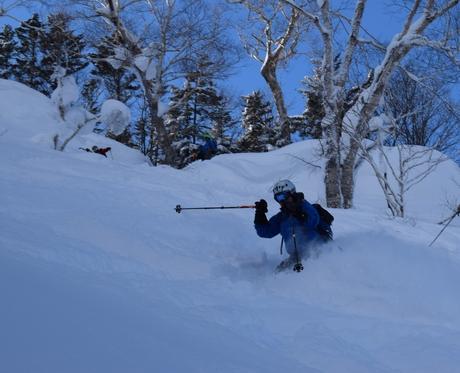 2016年1月23日札幌国際スキー場に近い白井岳支尾根の山を滑る_c0242406_17123194.jpg