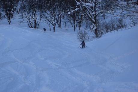 2016年1月23日札幌国際スキー場に近い白井岳支尾根の山を滑る_c0242406_17284923.jpg