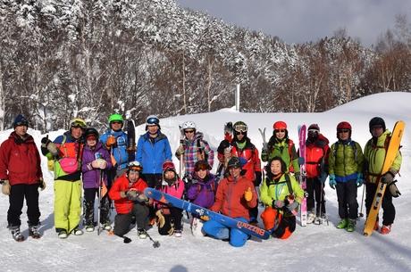 2016年1月23日札幌国際スキー場に近い白井岳支尾根の山を滑る_c0242406_17342574.jpg