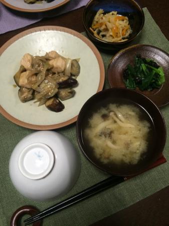 鶏肉とナスのオイスター炒め_d0235108_20114028.jpg