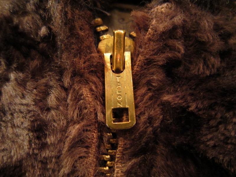 70`S Fake Fur Zip JKT。_a0182112_18351276.jpg