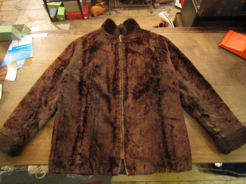70`S Fake Fur Zip JKT。_a0182112_1835241.jpg