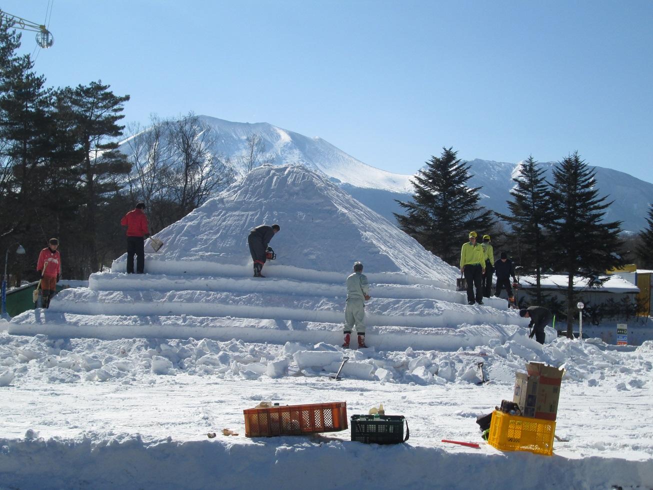 嬬恋・浅間高原ウインターフェスティバル開催前日_f0180878_20342818.jpg