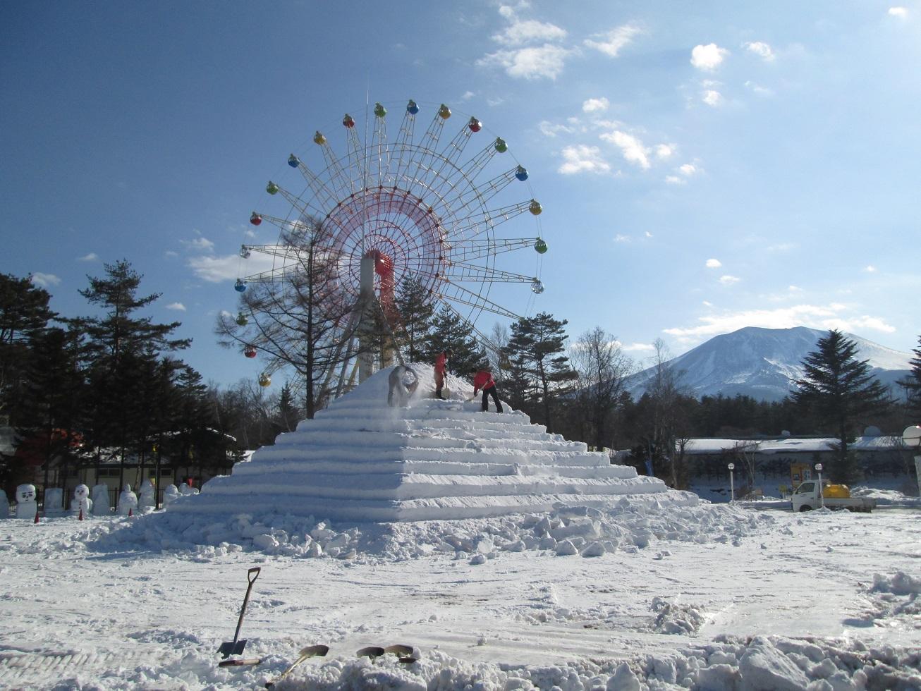 嬬恋・浅間高原ウインターフェスティバル開催前日_f0180878_20344922.jpg