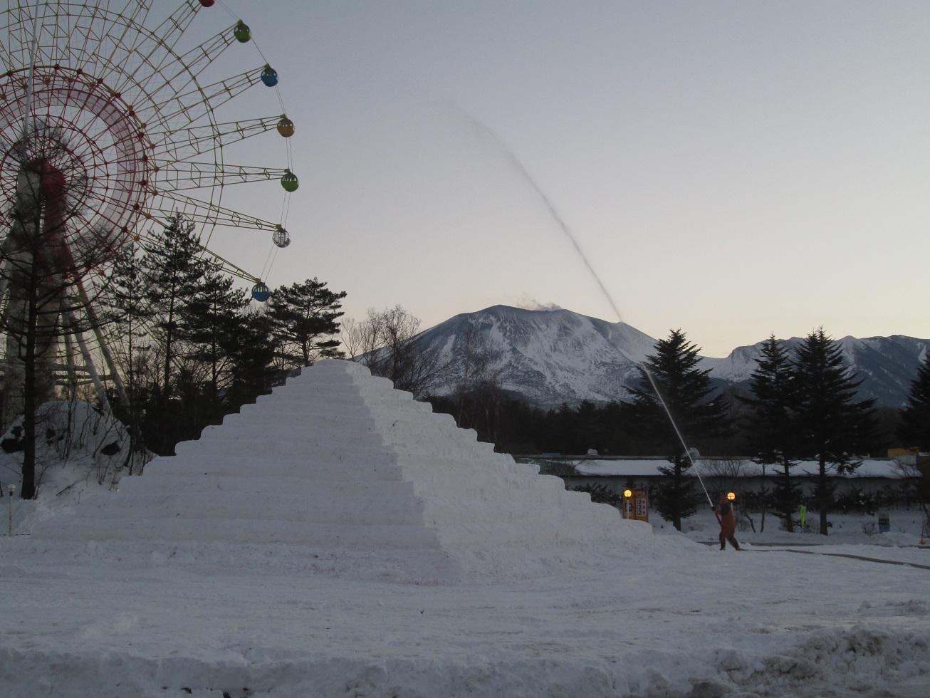 嬬恋・浅間高原ウインターフェスティバル開催前日_f0180878_20352147.jpg