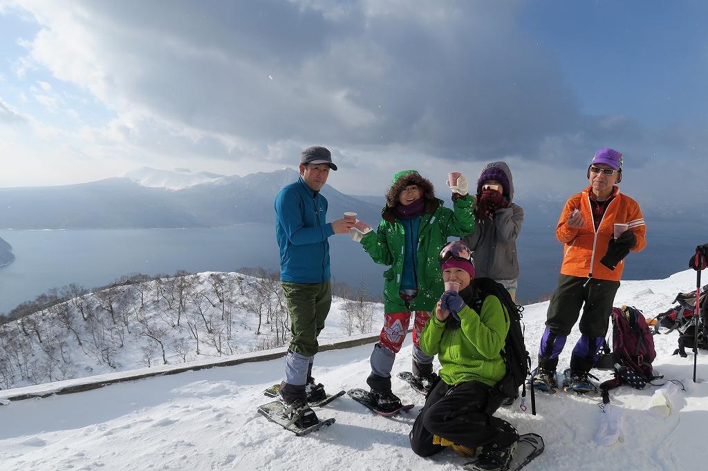 紋別岳から748mピーク、1月27日_f0138096_1225438.jpg