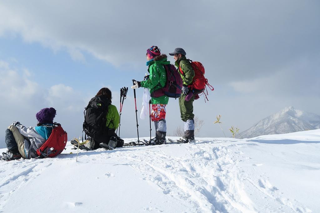 紋別岳から748mピーク、1月27日_f0138096_1235442.jpg