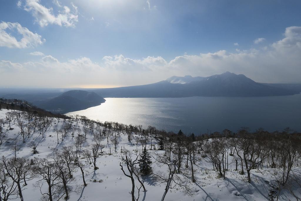 紋別岳から748mピーク、1月27日_f0138096_124269.jpg