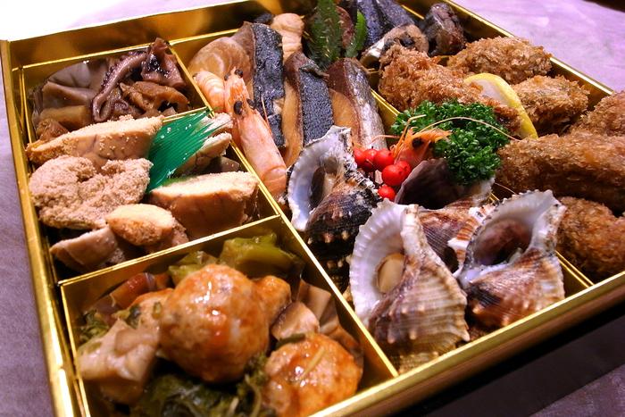 おせち二段重@SAKANA食堂_a0102098_18431252.jpg